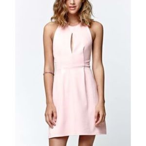 PacSun LA Hearts Pink Halter Dress 💖👗